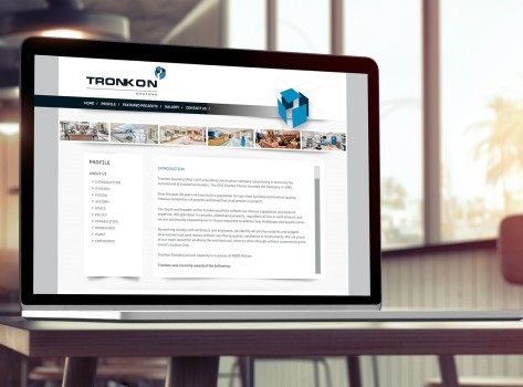 Tronkon Website Showcase