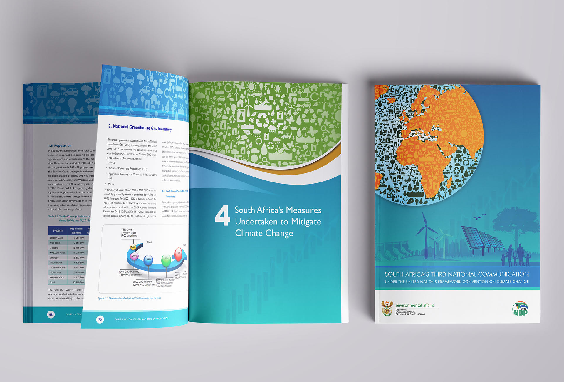 Dep Environmental Affairs SA's 3rd National Communication report